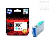 Cartus original HP 655 Cyan CZ110AE