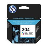 Cartus original HP 304 N9K05AE Color