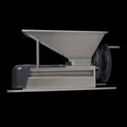 Dezciorchinător cu zdrobitor, complet inox - manual cuva 900 x 500 mm