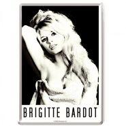 Carte postala metalica Brigitte Bardot