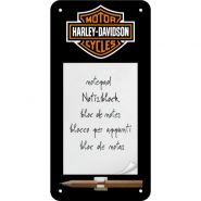 Bloc notes magnetic Harley-Davidson