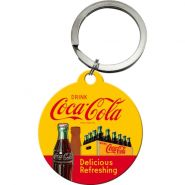 Breloc Coca-Cola-In Bottles Yellow