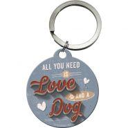 Breloc Love Dog