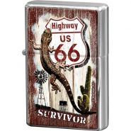 Bricheta metalica Route 66 - Survivor