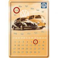 Calendar metalic de birou VW(10/14cm)