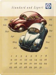 Calendar metalic de perete MARE VW (30/40cm)