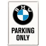 Carte postala metalica BMW - Parking Only