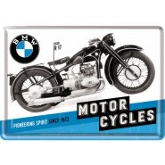 Carte postala metalica BMW-Motor Cycles