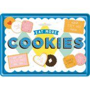 Carte postala metalica Cookies