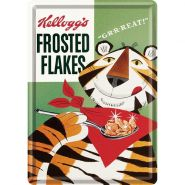 Carte postala metalica Kellogg's Sugar Frosted Flakes