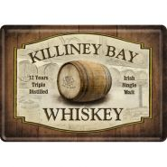 Carte postala metalica Killiney Bay Whiskey
