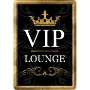 Carte postala metalica VIP Lounge