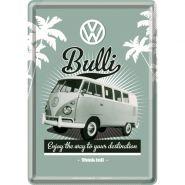 Carte postala metalica VW Bulli
