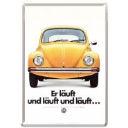 Carte postala metalica VW Lauft