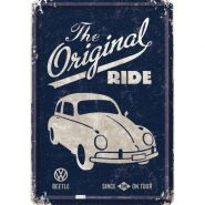 Carte postala metalica VW The original Ride 1945
