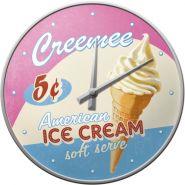 Ceas de perete American Ice Cream