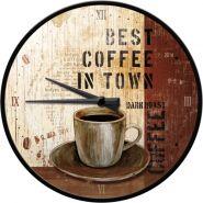 Ceas de perete Best Coffee in Town