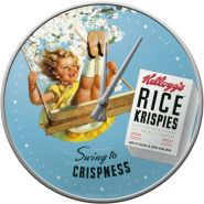 Ceas de perete Kellogg's Rice Crispies