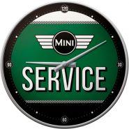 Ceas de Perete Mini Service verde