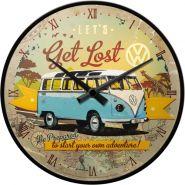 Ceas de perete VW Bulli - Let's Get Lost