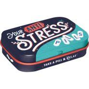 Cutie metalica de buzunar Anti Stress Pills
