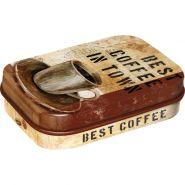 Cutie metalica de buzunar Best Coffee