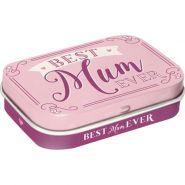 Cutie metalica de buzunar Best Mum