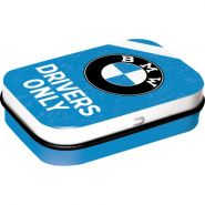 Cutie metalica de buzunar BMW Drivers Only Blue