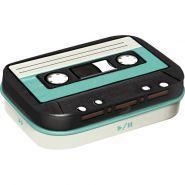 Cutie metalica de buzunar Cassette Tape