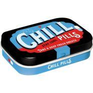 Cutie metalica de buzunar Chill Pills