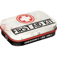 Cutie metalica de buzunar First Aid