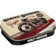 Cutie metalica de buzunar Harley-Davidson Flathead