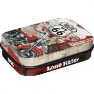 Cutie metalica de buzunar Route 66 Lone Rider
