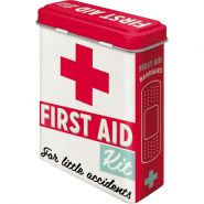 Cutie metalica de prim-ajutor First Aid Kit - Couple