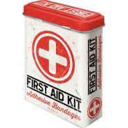 Cutie metalica de prim-ajutor First Aid Kit
