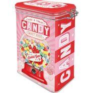 Cutie metalica etansa Candy