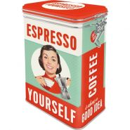 Cutie metalica etansa Espresso Yourself