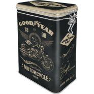 Cutie metalica etansa Goodyear Motorcycle