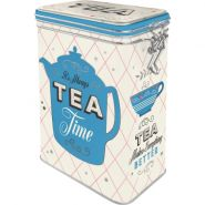 Cutie metalica etansa Tea