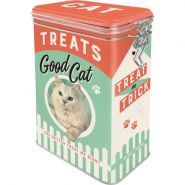 Cutie metalica etansa Treats Good Cat