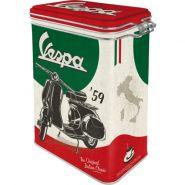 Cutie metalica etansa Vespa Italian Classic