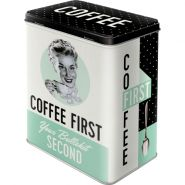 Cutie metalica L Coffee First