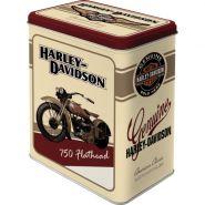 Cutie metalica L Harley-Davidson Flathead