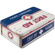 Cutie metalica plata First Aid II