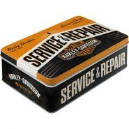 Cutie metalica plata Harley-Davidson Service & Repair