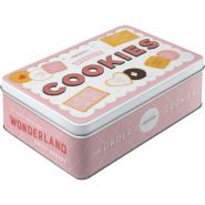 Cutie metalica plata Wonder Cookies