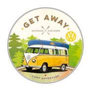 Cutie metalica Rotunda VW Bulli - Let's Get Away