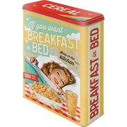 Cutie metalica XL Breakfast in Bed