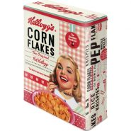 Cutie metalica XL Girl Corn Flakes Collage