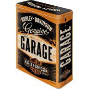 Cutie metalica XL Harley-Davidson Garage